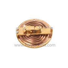 clamp on pipe line module type ultrasonic heat liquid flow meter