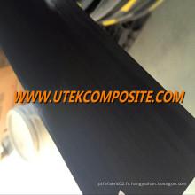Plaque de fibre de carbone de 100 mm de large