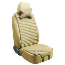 Siège auto coussin forme plate côtés Double utilisation avec linge et Pleuche-Beige