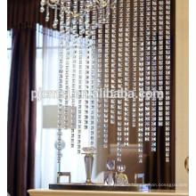 горячие продажи кристалл мозаики-в форме бусины занавес настроить длину для домашнего украшения Эко-дружественных