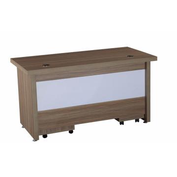 Melamine office desk for stuff with mobile drawer