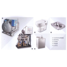 Vacuum Sewage Collection System for Train