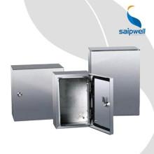Newsuper 304 ou 316 IP67 Boîtier en acier inoxydable, armoire en acier inoxydable, boîtier en acier inoxydable fixé au mur