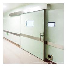 Deper clean room foot sensor hermetic hospital automatic sliding door mechanism