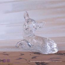 Животное в форме хрусталя оленей для домашнего украшения