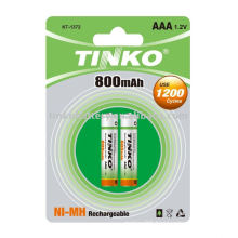 NIMH rechargeable battery with competitive price