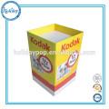 Caixas de exposição Rodada de armazenamento ecológico caixas de papelão