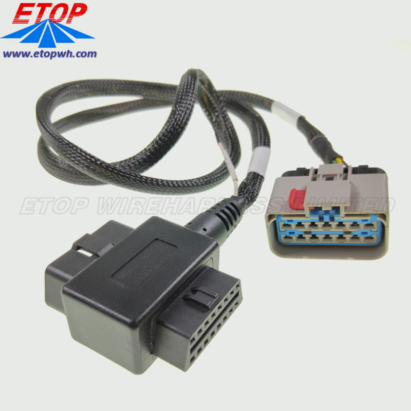 coverter J1962 OBD2 cable