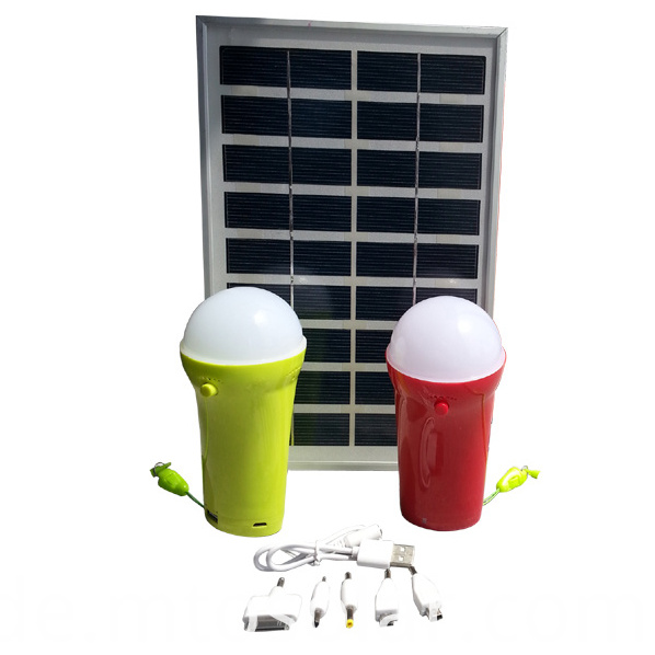 solar portable emergency lantern