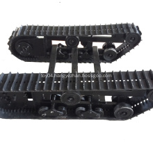 Rubber Crawler undercarriage track systems for mini excavator,loader Drilling Rigs dumper boats