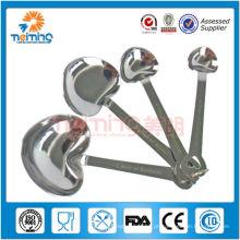 Colheres de medição de aço inoxidável 4pcs heart-shaped / colheres de medição / pesando colheres