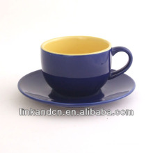 KC-03003high quality coffee cup with saucer,simple tea cup,beautiful life