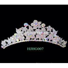 pageant crowns tiaras red crystal wedding crown tiara flower crown king crown ring