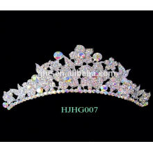 Corrida coroas tiaras vermelho casamento casamento coroa tiara flor coroa rei coroa anel