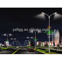 Galvanized street steel lamp post