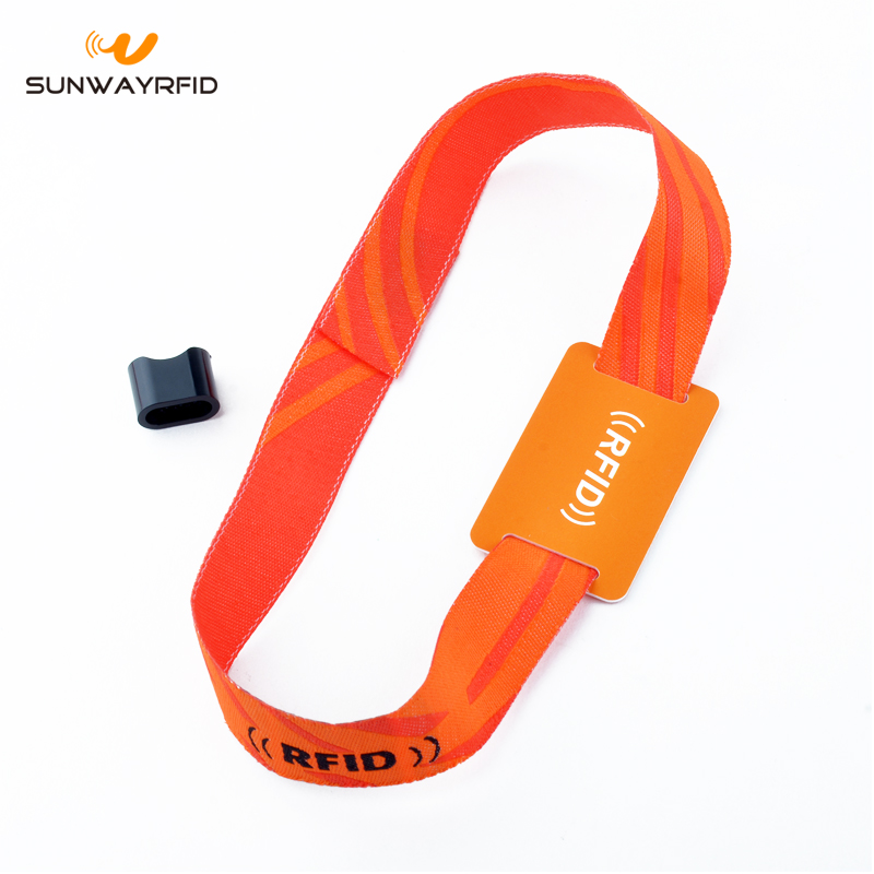 Fabric RFID Wristband for Music Festival Ticket 1