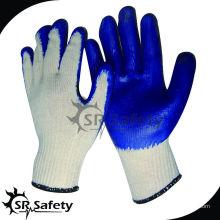 SRSAFETY промышленные перчатки с защитным покрытием перчатки из полиэфира, изготовленные в nantong