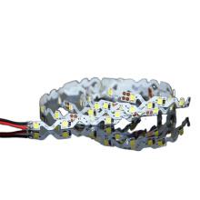 High brightness 12V SMD 2835 flexible s shape led light strip for decoration and advertisement