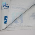white sticky felt  needle punched non woven fabric