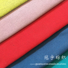 Tecido de veludo estofado em poliéster e composição de nylon