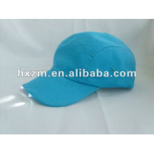 sky blue cotton with led at back/led light caps and hats