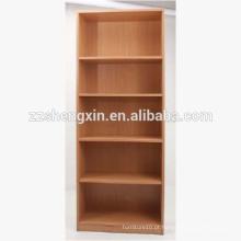 Prateleira de livros em madeira de várias camadas para casa