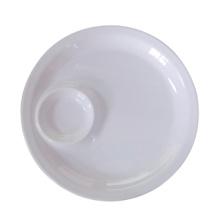Melamine Invisible Dumpling Plate (WT884) Food-Grade Melamineware