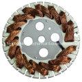 Distributeur de rotor externe / ventilateur de table Stator Winding Machine