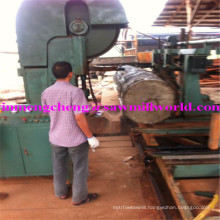 CNC Band Saw Automatic Wood Cutting Bandsaw Machine