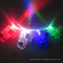 rayon laser d'anneau mené superbe fait sur commande d'anneau