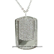 Cool Design and Women′s Fashion Sterling Silver Pendant Men and Women Necklace P5066