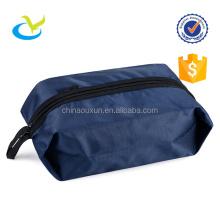 fashion custom printing nylon or polyester wholesale travel shoe bag with zipper