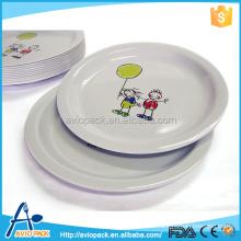 Low cost good heat resistance melamine plates bulk