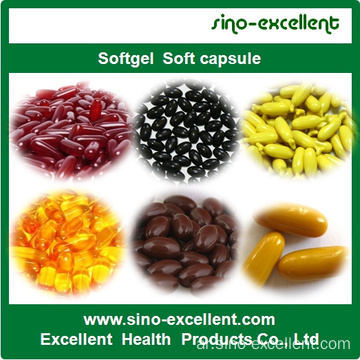 Soybean Isoflavone Softgel كبسولات ناعمة