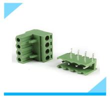 Fábrica 5.08mm 4 Pinos Plug em PCB Bloco Terminal
