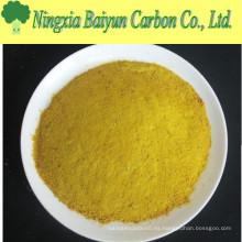 Polvo amarillo cloruro de polialuminio