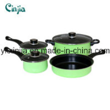 Aluminum Carbon Steel Non-Stick Fry Pan, Milk Pot, Cassreole