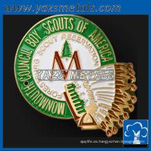 personalizar medallas de metal, de alta calidad personalizada de la moda spor personalizado palo medallones