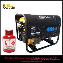 2.0KW three phase 4-stroke 168F manual /electric start gasoline generator