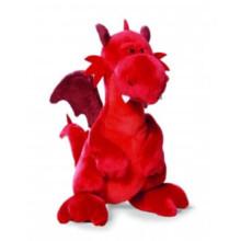 Juguete suave de la felpa del dragón del juguete del cabrito para la venta