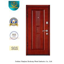 Puerta de acero de seguridad Simplestyle con talla para MID East (L2-1005)