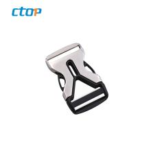 Professional factory metal custom adjustable metal pin buckle bag buckle metal side release  buckle