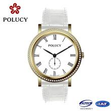 OEM Minimalist Genuine Leather Strap Ladies Wristwatch