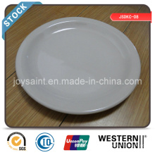 Vente de plaque de dîner en céramique de haute qualité 9 ''