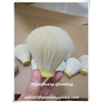28mm White Horse Hair Shaving Brush Knot