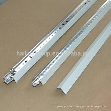 Grille de plafond suspendue en T pour le plafond acoustique