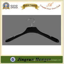 Großhandel 43 cm Kunststoff schwarz Farbe Kunststoff Kleiderbügel für Kleidungsstück