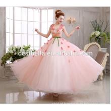 Alibaba China fabrica senhoras vestido de renda vestido de casamento de renda rosa de alta qualidade vestido de noiva casamento nupcial 2017