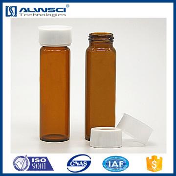 Flacons de 30 ml avec septa 22 mm ptfe
