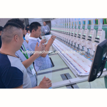 2015 new high super speed 1500 RPM computer embroidery machine